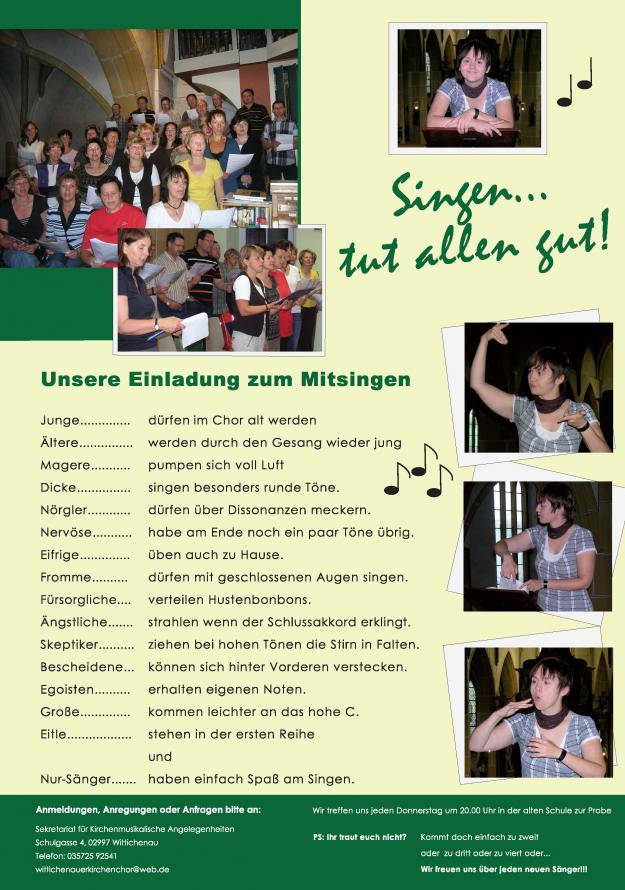 Wittichenauer Kirchenchor (deutsch)